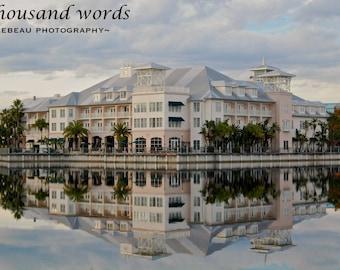 Celebration Hotel - Celebration, Florida photographic print