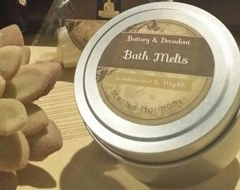 Luxurious moisturising Bath Melts