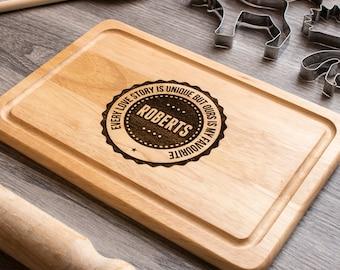 Custom Cutting Board, Chopping Board, Personalised Cutting Board, Foodie Gift, Valentines Gift, Custom Chopping Board, Housewarming