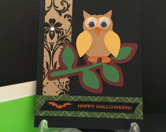 Handmade Happy Halloween Card