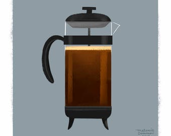 French Press   Hot Drink Series