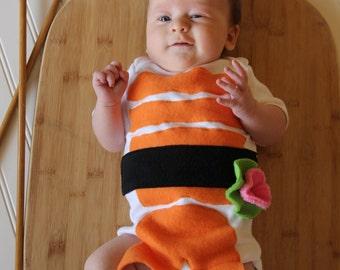 Sushi Costume, Sushi Baby Costume, Halloween Costume Baby, Infant Costume, Foodie Costume