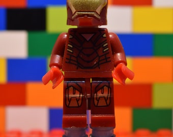 Ironman - Lego Brooch Pin