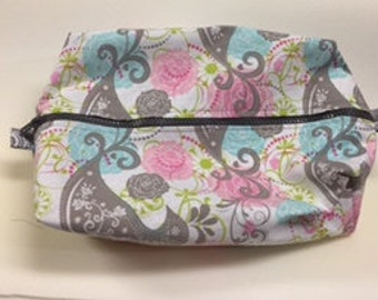 Boxy Cosmetic Bags
