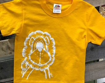 Lion T-Shirt, Youth T Shirt, Clearance Shirts, Kids Lion Shirt, Gifts for Kids, Lion Cloths, Kids Tshirt, Boys Shirts, Girls Shirts, SALE