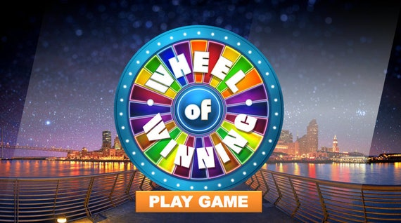wheel of fortune style customizable powerpoint game pc  u0026 mac