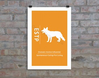 """ESTP Minimalist Poster 
