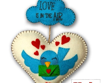 Heart Valentine White