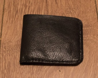 Ultra soft bifold leather wallet