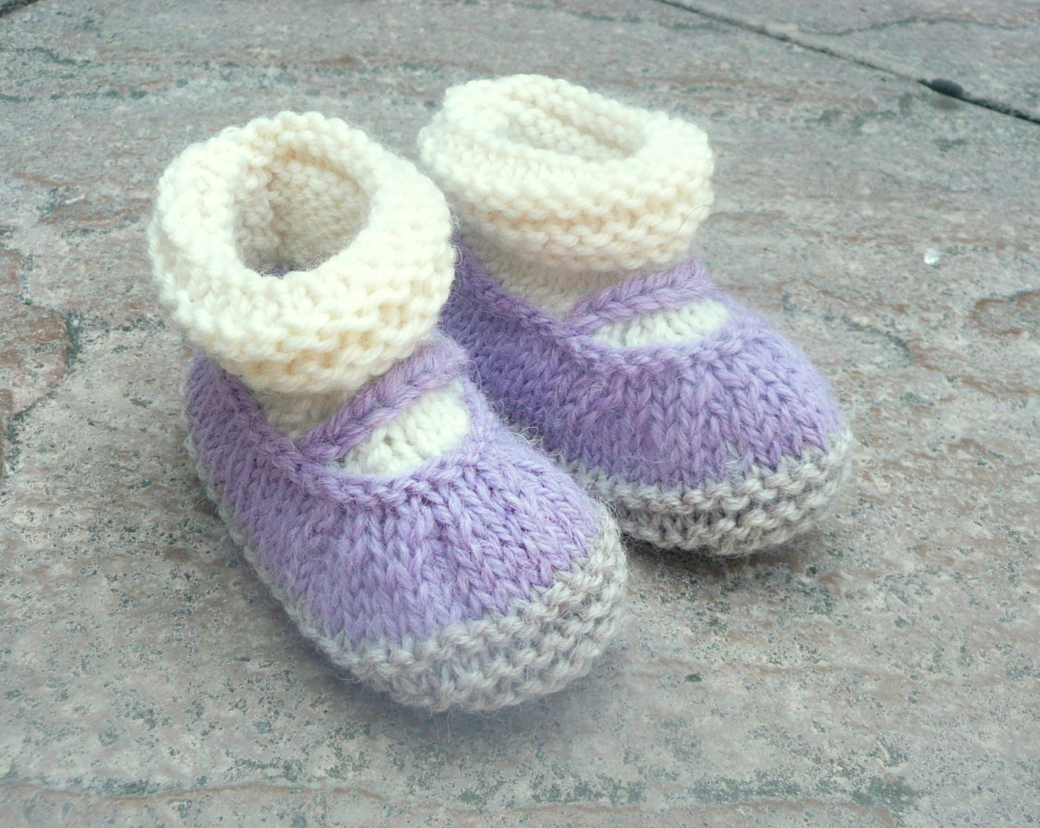 Asombroso Free Knitting Pattern Mary Jane Baby Slippers Componente ...