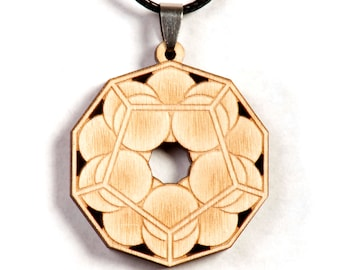 Sphere Dodecahedron Pendant
