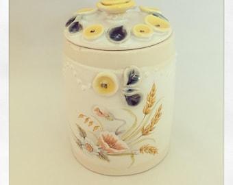 Bohemian Keepsake Jar