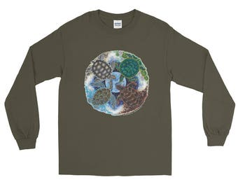 Turtle Totem Earth Guardian Long Sleeve T-Shirt
