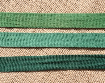 Twill Tape Vintage Cotton Trim, Choose Your Color