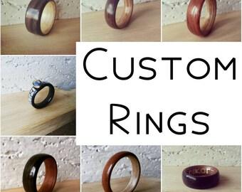 Custom Bentwood Ring