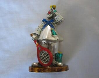 Vintage Silver Clown