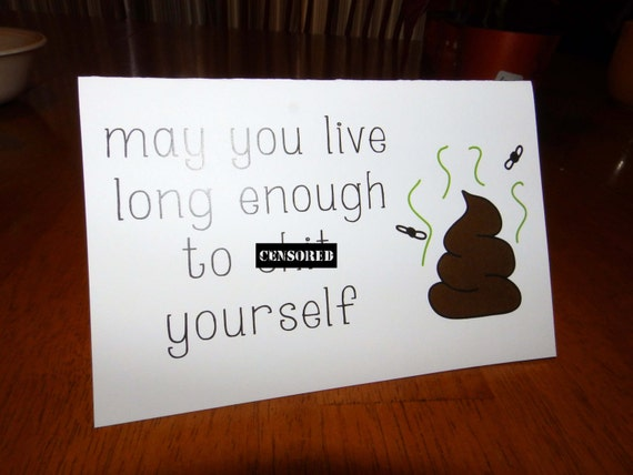 Funny birthday card mature may you live long enough to like this item bookmarktalkfo Images