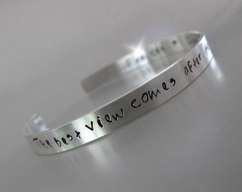 Bangle with Inscription, Personalised Silver Bangle, Personalised Bangle with Names, Bracelet with Message, Childrens Names Bangle