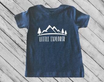 Little Explorer Toddler Shirt