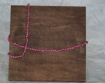 Pink Acai Necklace
