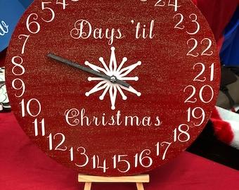 Christmas Advent Clock