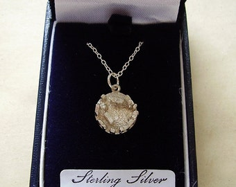 """Sterling Silver Stonehenge Pendant With Sterling Silver 18"""" Chain In Presentation Box"""