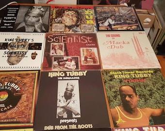 Clocktower Abraham Dub Reggae Vinyl Records