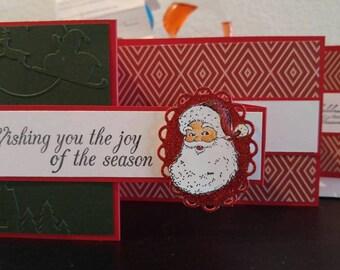 Wishing you the joy of the season from Santa