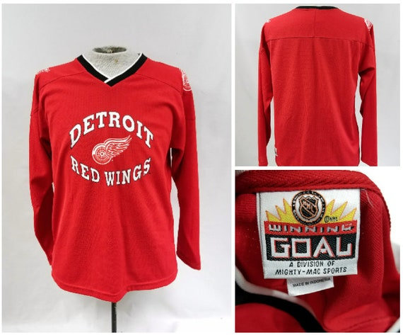 Vintage Detroit Red Wings Jersey Vintage Red Wings Jersey d7103834270