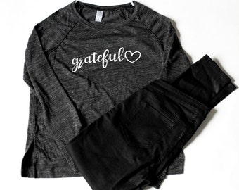 Grateful Heart Long Sleeve shirt