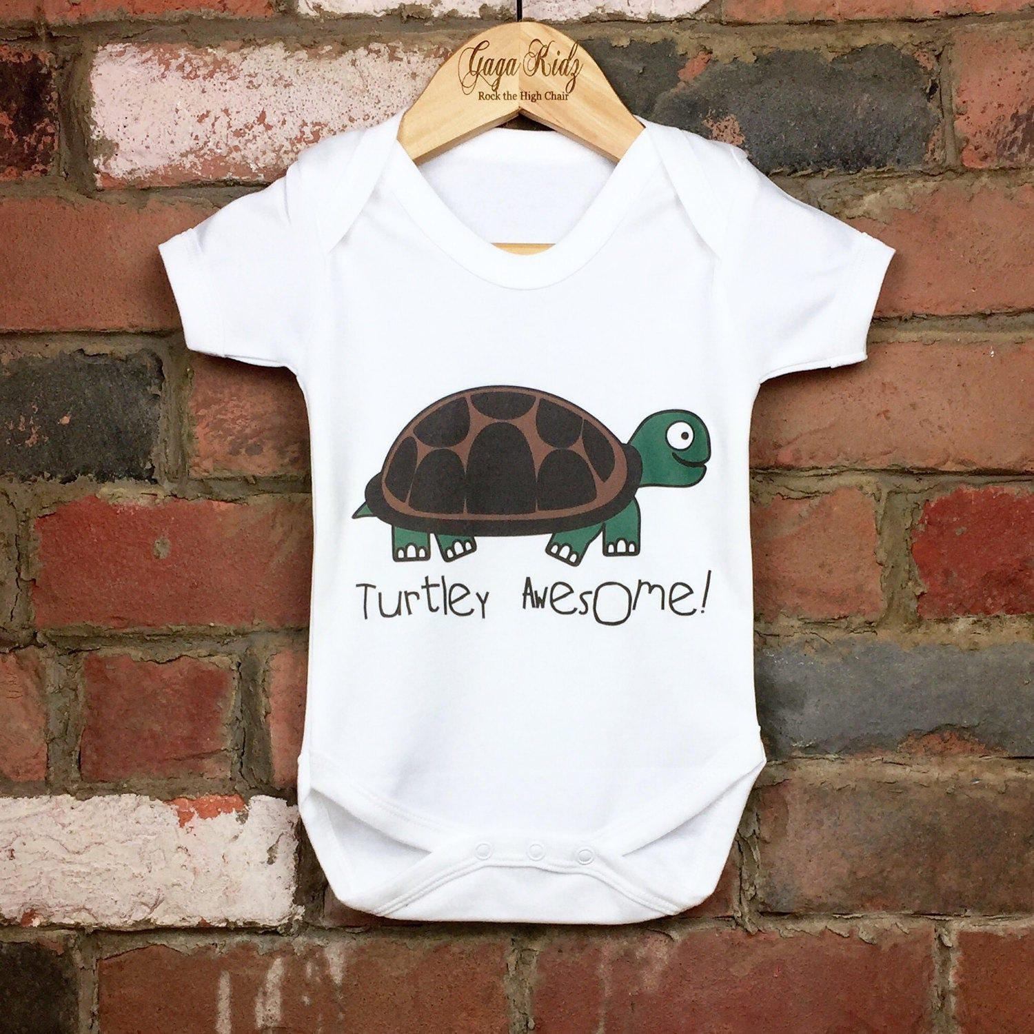 Turtley Awesome Baby Bodysuits Baby e Piece Suit Funny