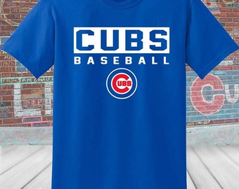 Chicago Cubs Baseball Shirt
