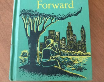 Looking Forward easy growth in Reading looking forward by Gertrude Hildreth 1956 vintage early Reader school text book