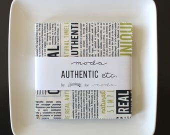 "Authentic Etc. by Sweetwater for Moda Charm Pack 5"" Squares"