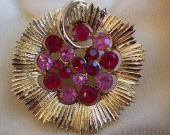 Coro brooch & earring set