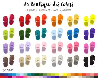 50 Rainbow Baby Shoes Clip art, Colorful Digital Graphics PNG, Children Shoes, baby shower, Clothes Planner Stickers Clipart Commercial Use