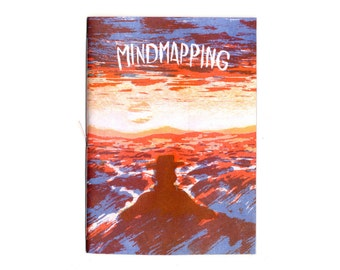 Riso print Zine Mindmapping Booklet by Tsjisse Talsma
