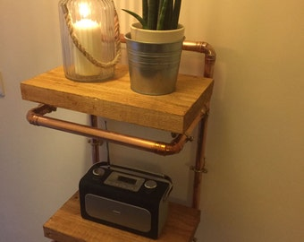 Copper Two Tier Shelf