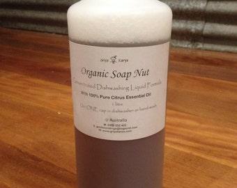 Organic Soap Nut Concentrated DISHWASHING Formula