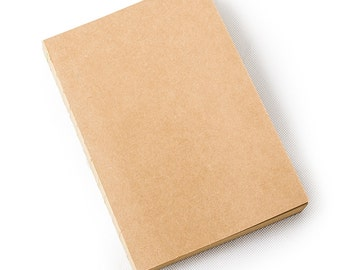 A5 Refills Notebook Lined and Blank Craft Paper