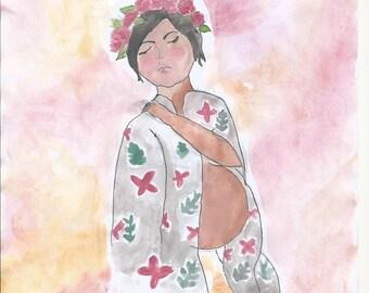 Kimono baby.