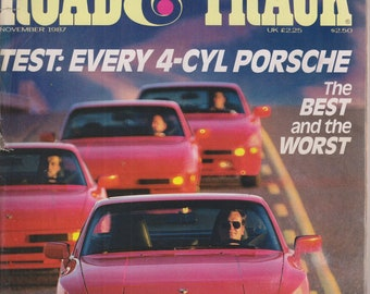 Road & Track November 1987 Test: Every 4-Cyl Porsche - The Best and The Worst
