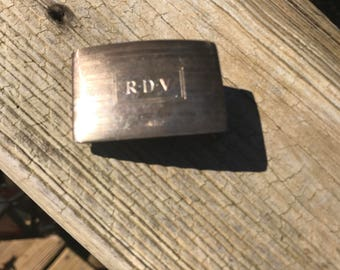 Sterling ailver buckle
