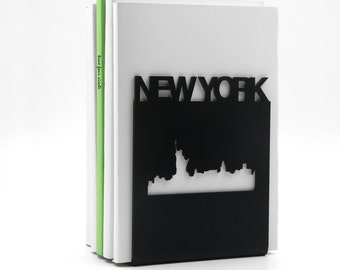 NEW YORK Bookend, Modern And Minimalistic Style.