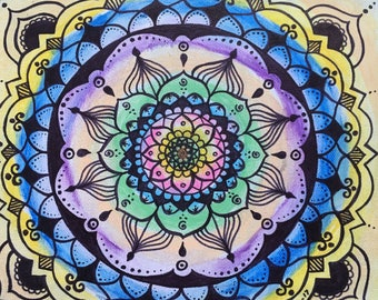 Joy and Energy Mandala