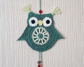 Crochet decorative owl