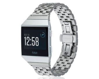 Fitbit Ionic Band -  LINK - more colors available - stainless steel