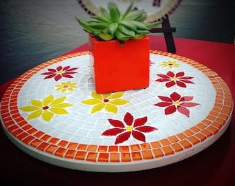Mosaic Art Platter