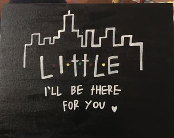 Friends Little Canvas