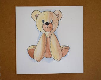 Various, cute, hand drawn, colorful, animal gift cards, blank for your personal touch
